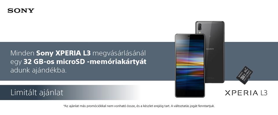 Sony Xperia L3 + SR32UY