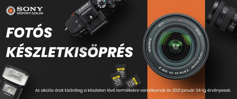 Fotós készletkisöprés