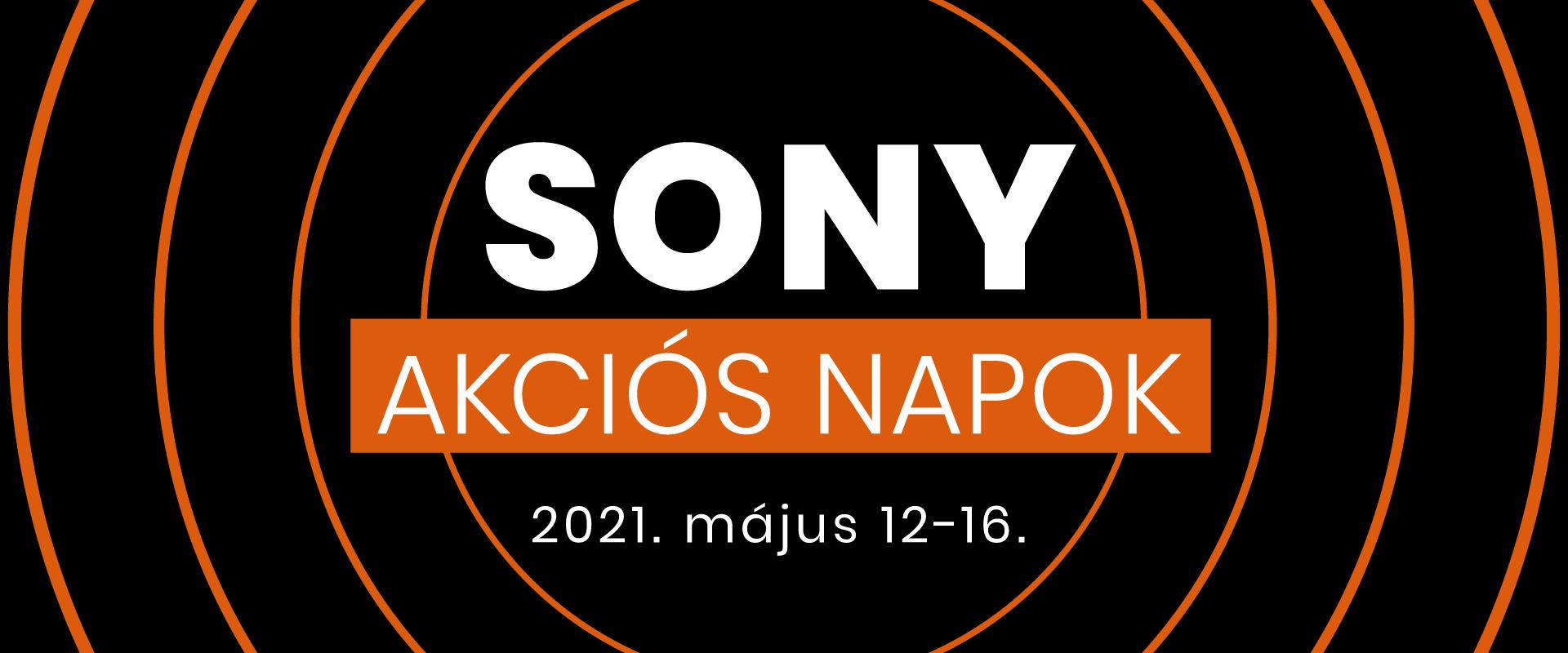 Sony akciós napok!