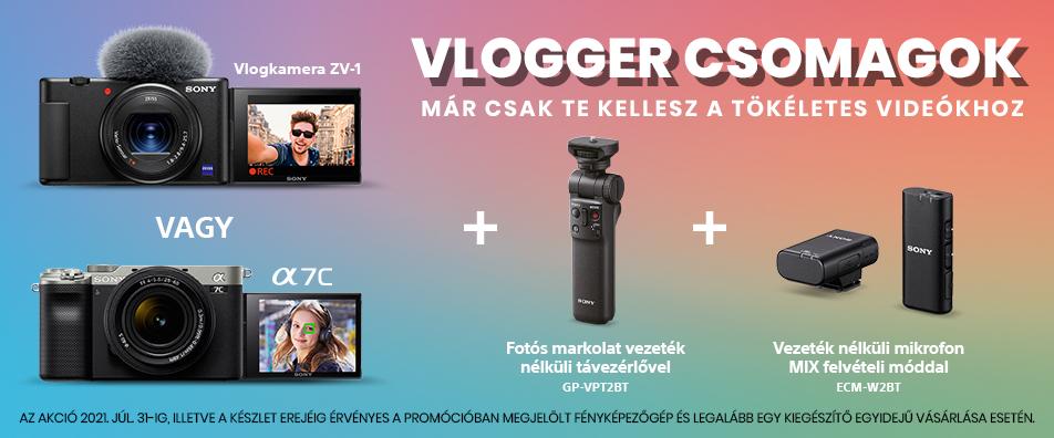 Vlogger csomagok!