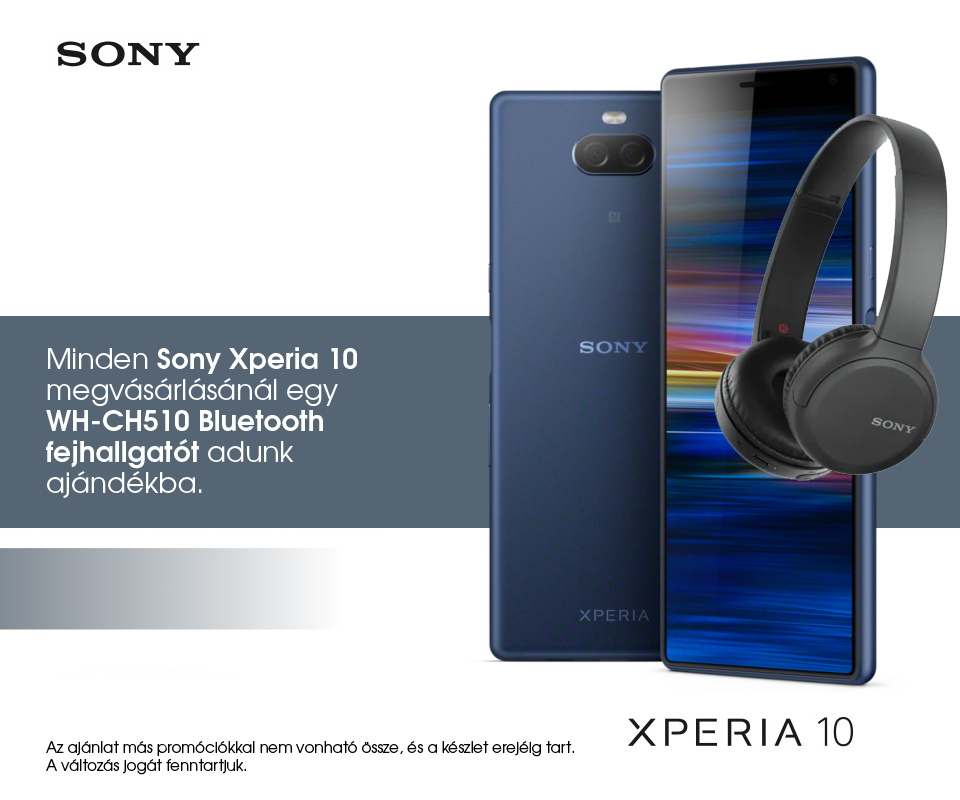 Sony Xperia 10 + WH-CH510