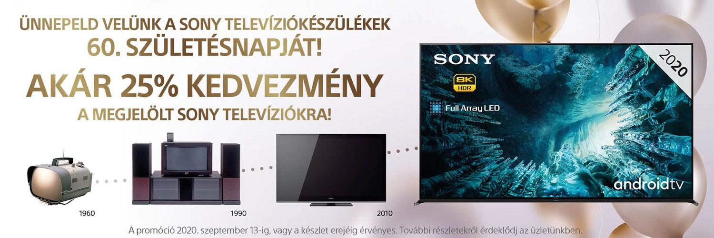60 éves a Sony televízió!